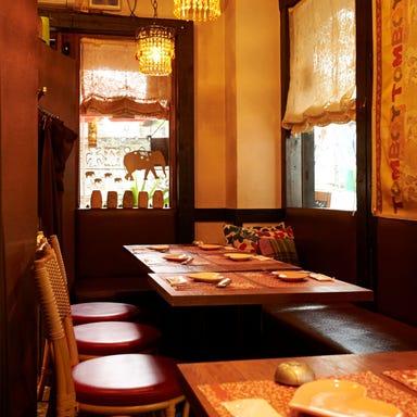 リゾートテラス&記念日 TOMBOY cafe 渋谷店 店内の画像
