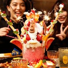 ◆誕生日特典巨大パフェ→0円☆★☆