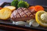 松阪牛赤身ステーキ ¥3,300-
