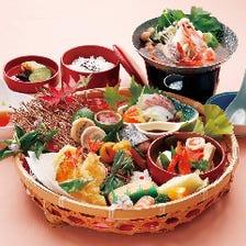 目にも美しい日本料理