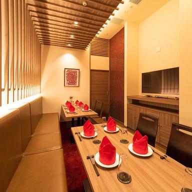個室完備中華 新荘園 田町ステーションタワーS店 店内の画像