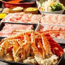 上質なお肉や海鮮を心ゆくまで満喫!