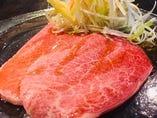 【赤肉の焼きしゃぶ】