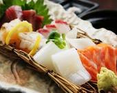 本日の鮮魚のお造り
