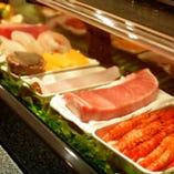 三河直送新鮮鮮魚を使っています。