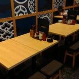 テーブル席(2名様~20名様)