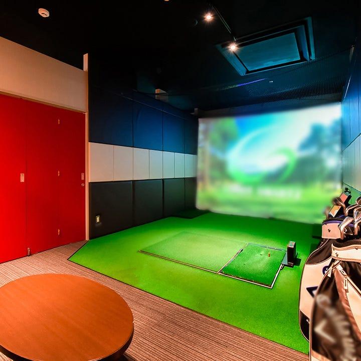 お仲間とのゴルフプレーに集中できる個室を4部屋ご用意!