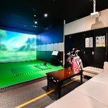 初心者でも安心な中洲のゴルフバー|【Pebble Beach】ソファー席完全個室(~4名様)