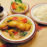 Soup Curry Set スープカレーセット Chicken チキン