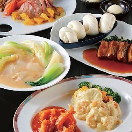 暖龍で人気の本格中華料理を 気軽に味わえるコースプラン!
