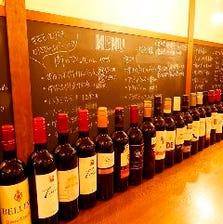 36種のワインが2時間飲み放題!