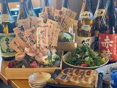 炭火野菜巻き串と餃子 博多 うずまき 行徳店
