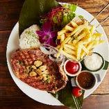 厳選肉の稀少部位を贅沢に使用した当店名物グリル料理【オーストラリア】