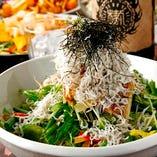 これぞさっぱり!柚子オリジナルサラダ