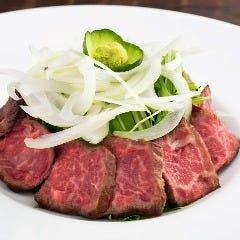 タタキ風和牛レアステーキ