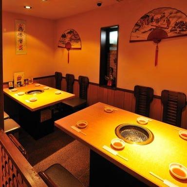 焼肉・韓国料理 蘭  店内の画像