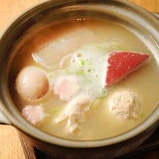 丹波黒鶏スープのおでん盛り合わせ5種