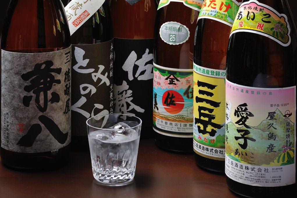 ◆厳選焼酎 14種類