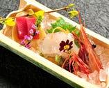 ◇旬魚 盛合せ 旬の鮮魚をご用意しております