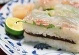 【お食事】 桜鯛の寿司