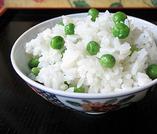 ≪食 事≫    旬 まめ御飯