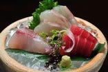 ◆旬魚のお造り
