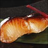 ●名物 銀鱈(ぎんだら)の酒粕漬け焼