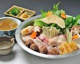 ◆純系名古屋コーチン コラーゲン鍋