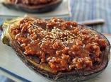 ●米茄子鶏味噌田楽