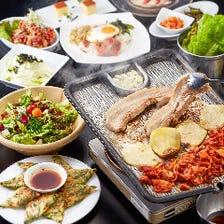 お得に人気の韓国グルメを食べ尽し!