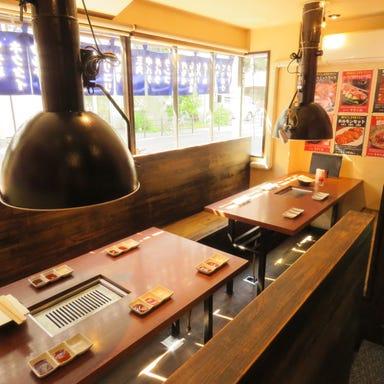 焼肉 まるしま 西本町店 店内の画像