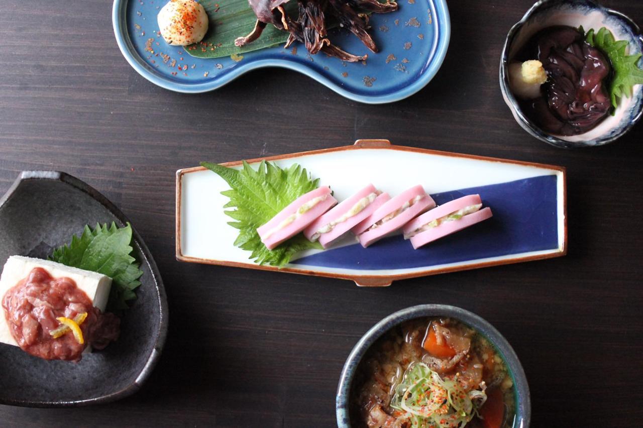 箱根産食材を使った料理