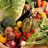 旬の野菜たち【旬に合わせさまざまな産地から仕入れてます】