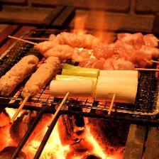◇炭火でじっくり焼いた厳選串焼き