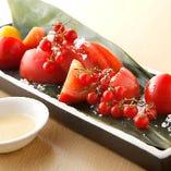 トマトトマトトマトトマトトマトとお塩