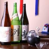本日のおすすめ&飲み頃 日本酒