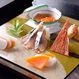 濱の季の料理をお楽しみ頂けます