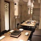 満室必至の個室空間は、宴会・歓送迎会・同窓会にどうぞ!