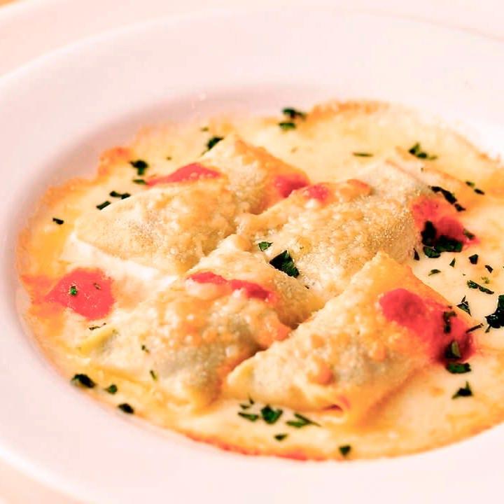 イタリアンでチーズ料理を堪能