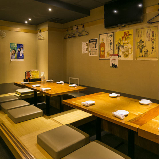 座敷席や半個室、種類豊富なコースなど、宴会に最適!