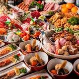 【冬季☆ぐるなび限定】2H飲放題付『渡り蟹が入った海鮮鍋』がメインの得々宴会(とくとく)コース[全8品]