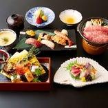 熟練板前による伝統の日本料理【国産】