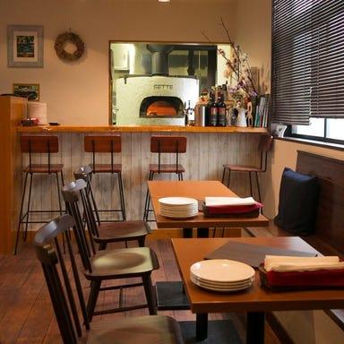 Pizzeria e trattoria Sette(セッテ) コースの画像
