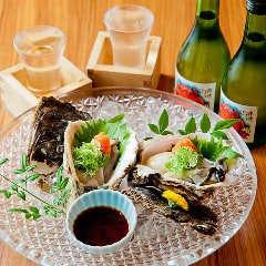 岩牡蠣ポン酢