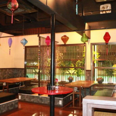 ベトナムの料理 ALO  店内の画像