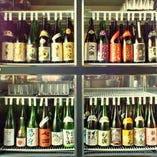 【日本酒20種付き飲み放題】