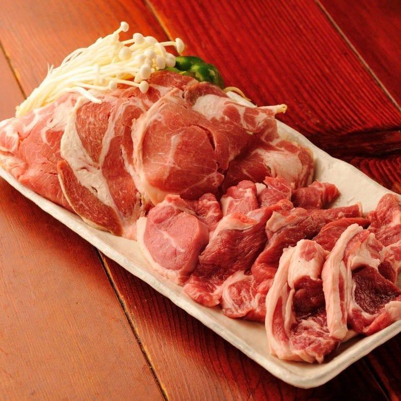 人気!ラム肉4種盛り!