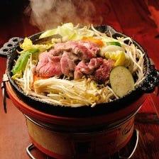 自慢の「ジンギスカン鍋焼」