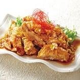 香味ダレ油淋鶏(ユーリンチー)