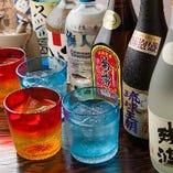 沖縄各地から厳選した泡盛は50種以上!